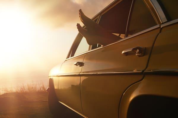zdezynfekowane auto po ozonowaniu